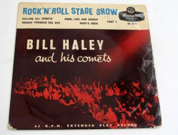 Bill Haley And His Comets ROCK 'N' ROLL STAGE SHOW PT 1  1956 UK EX AUDIO